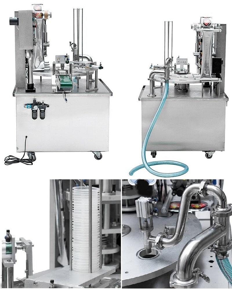 Advanced-plastic-cup-bottle-milk-juice-yogurt-packing-machine
