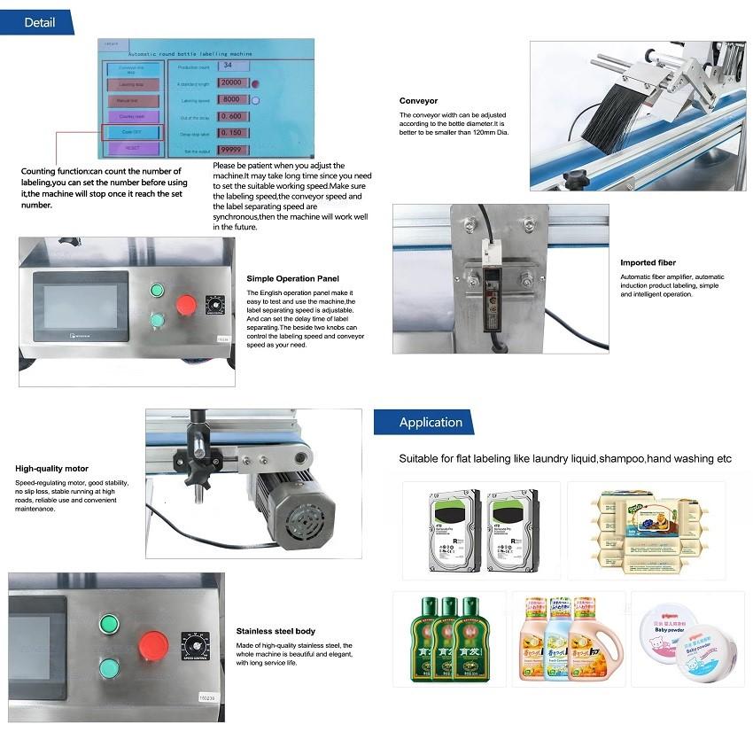 may dan nhan phang- flat labelling machines ALTB-150P